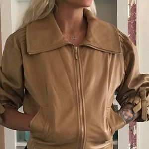 Escada Leather Jacket,